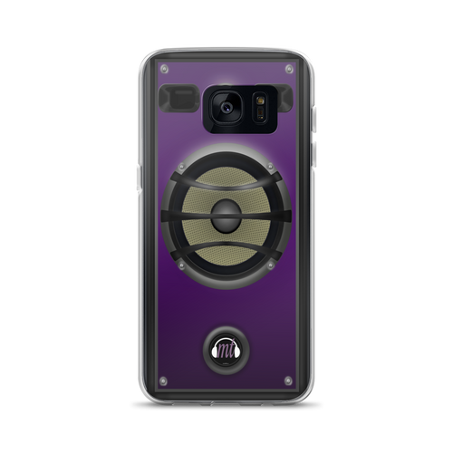 Purple Speaker Samsung Case