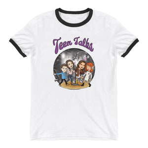 Teen Talks Ringer T-Shirt