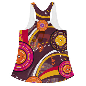 Rainbow Music Women's Tank Top