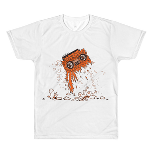 Boom Box T-Shirt (Orange)