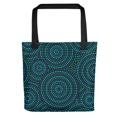 Indigenous Blue Tote bag