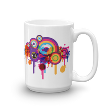 Music Talks Splat Mug
