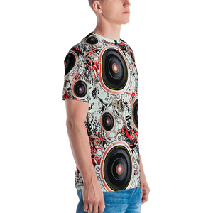 All Over Printed Speaker T-Shirt
