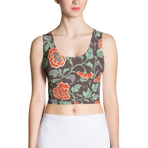 Womens Fitted Crop Top