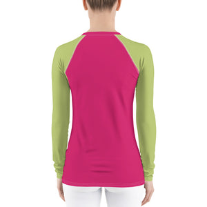 Womens Long Sleeved Rashie Top