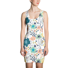 Fitted Sleeveless Summer Dress