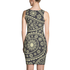 Womens Fitted Summer Dress