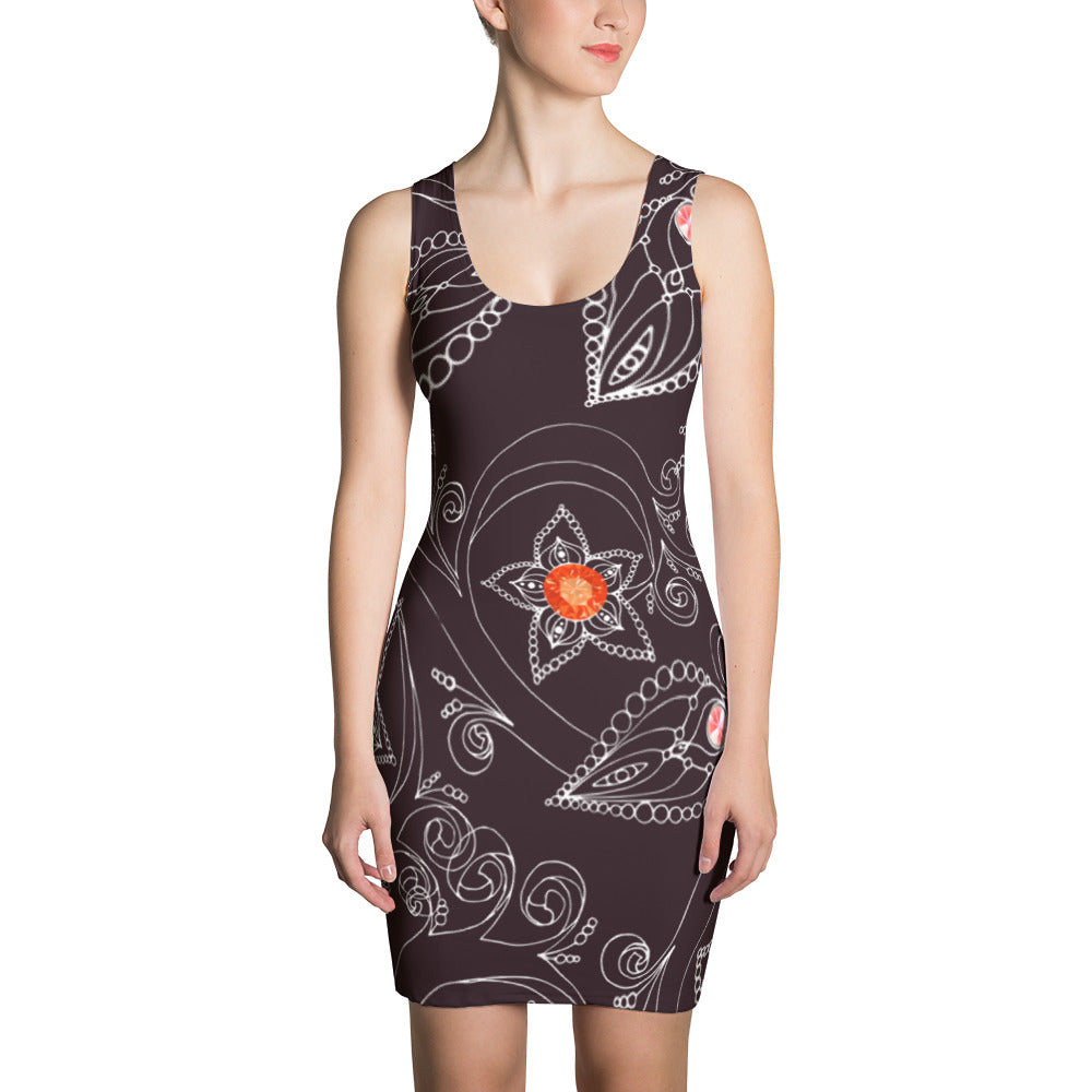 Women's Fitted Summer Dress