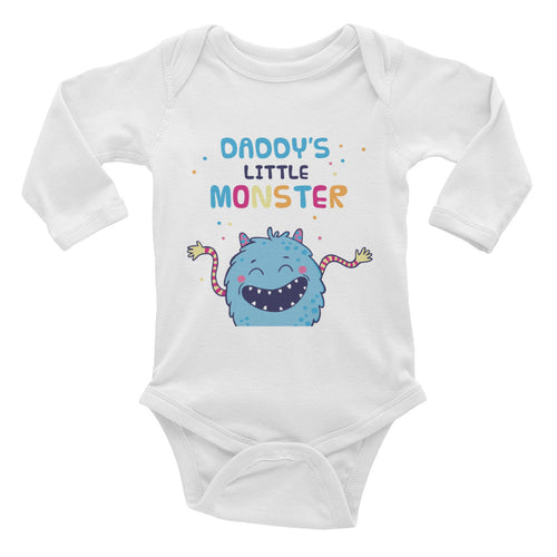 Daddy's Little Monster Infant Bodysuit