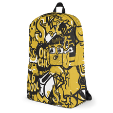 All-Over Printed Graphic Backpack