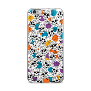 Skull iPhone Case (white)