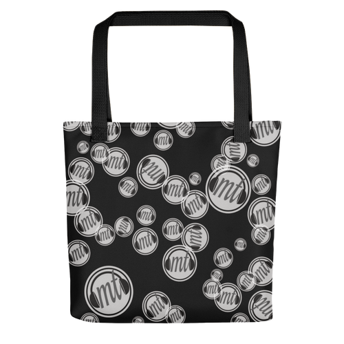 Music Talks Tote Bag