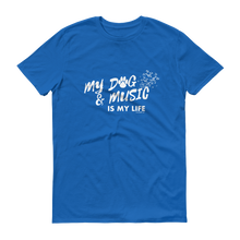 My Dog And Music T-Shirt