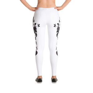 Stylish Rose Queen Leggings