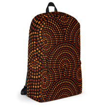 Indigenous Brown Designer Backpack Bag