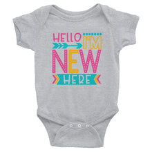 Short Sleeve infant Bodysuit