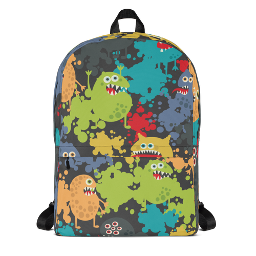 Monster Designer Backpack Bag