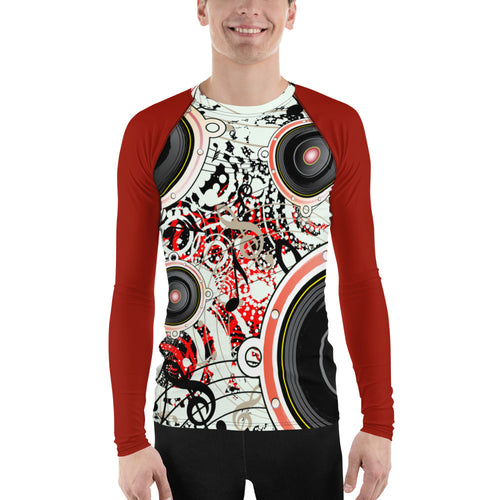 Mens Long Sleeved Rash Guard