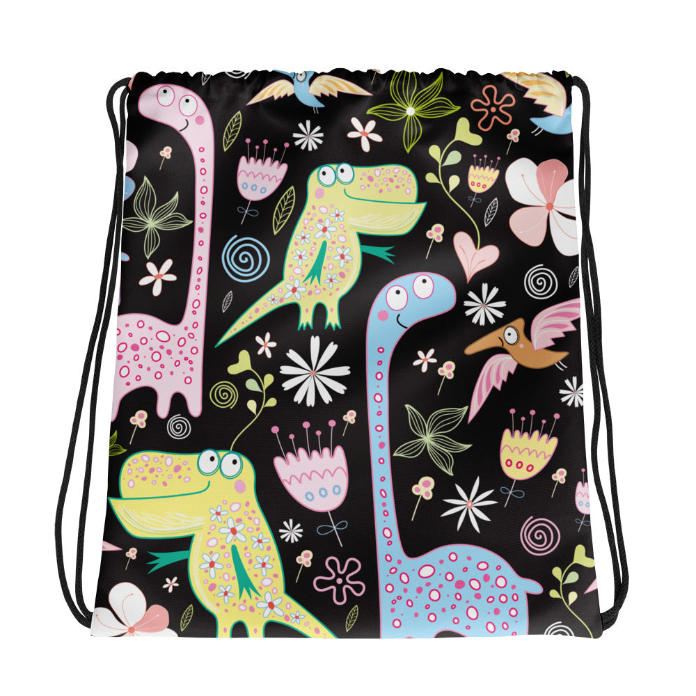 Jungle Friends Drawstring bag