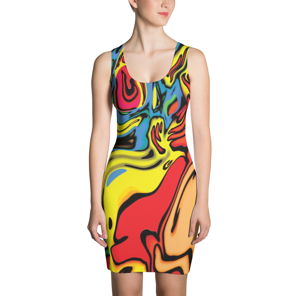Womens Fitted Dress