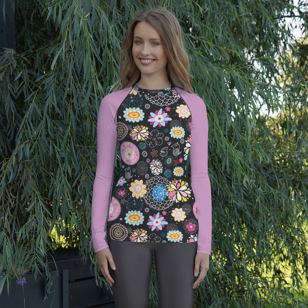 Long Sleeved Womens Rashie
