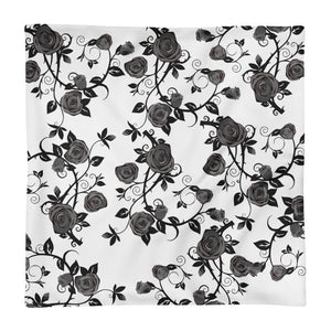 Roses Square Pillow Case