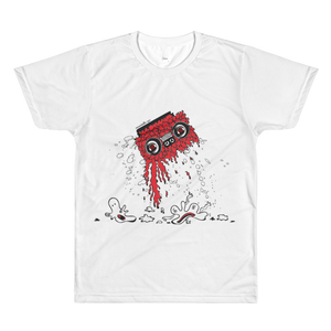 Boom Box T-Shirt (Red)