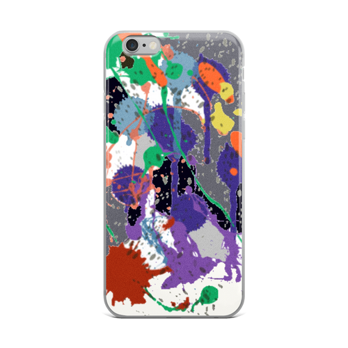 Splat iPhone Case