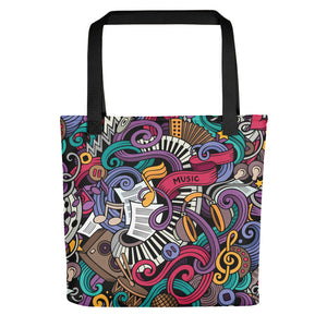 Music Doodles Tote bag