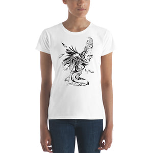Bird Girl Women's T-Shirt