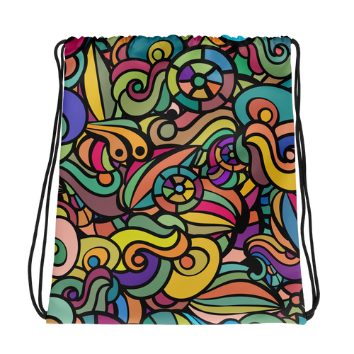 Colour Madness Drawstring Bag