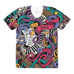 Colourful Women's Crew T-shirt