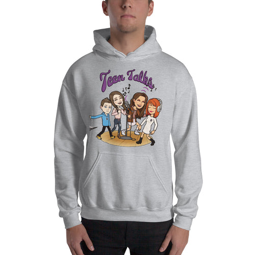 Teen Talks Hooded Sweatshirt
