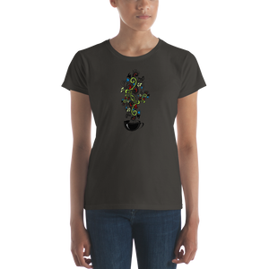 Trendy Coffee Womens T-Shirt