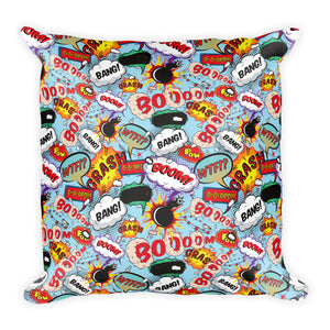 Graphic Designer Square Throw Pillow