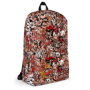 All-Over Graphic Backpack