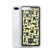 Floral Speaker iPhone Case