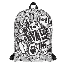 Graphic All-Over Printed Backpack