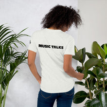 Music Talks Short-Sleeve Unisex T-Shirt