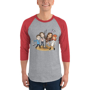 Teen Talks Raglan T-Shirt