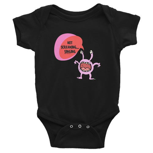 Not Screaming Infant Bodysuit
