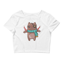 Pirate Kitty Crop Top