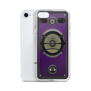 Purple Speaker iPhone Case