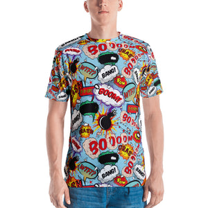 Cool Trendy Graphic Comic Mens T-Shirt