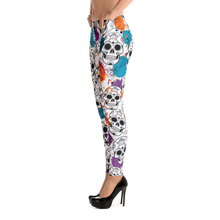 Splash Skull Leggings