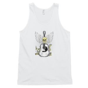 Mens Tank Top With Guitar