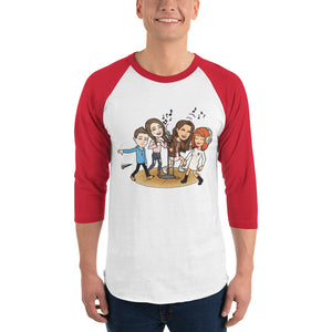 Teen Talks 3/4 sleeve raglan shirt