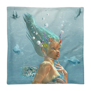 Mermaid Square Pillow Case