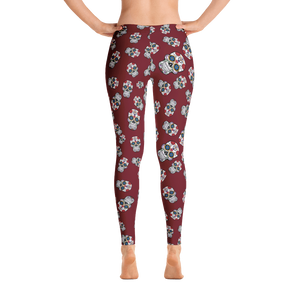 Pretty Skull Leggings