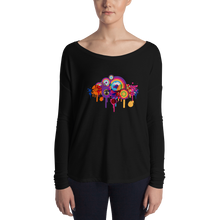 Music Talks Coloured Splat Womens' T-Shirt